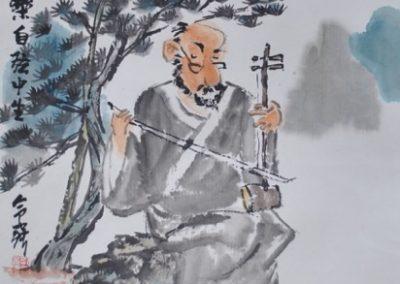 Le pinceau poétique de M. Kong