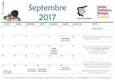 Les événements de septembre
