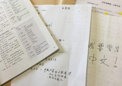 L'enseignement du chinois à l'Institut Confucius
