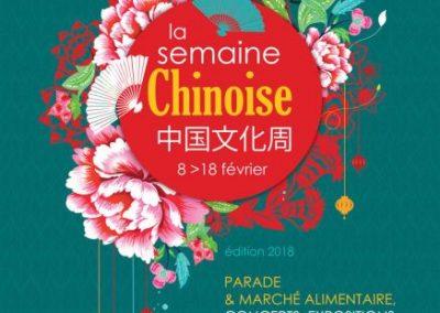 SEMAINE CHINOISE 2018
