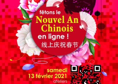 NOUVEL AN CHINOIS 2021 – samedi 13 février